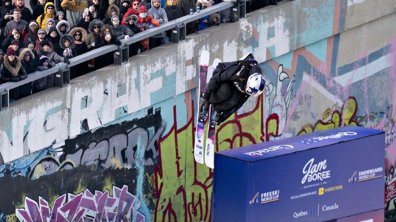 Mathilde Gremaud a ainsi fêté son deuxième succès de la saison en Coupe du monde.