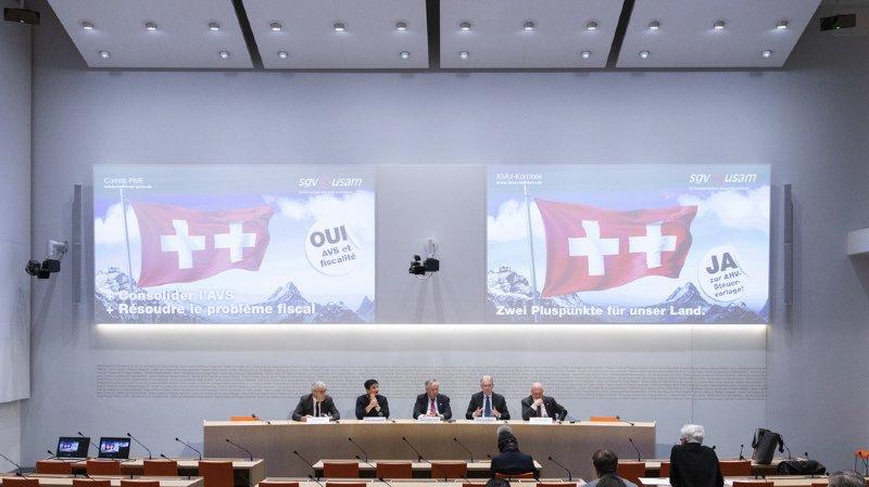 Votations du 19 mai: les entreprises entrent dans le débat pour défendre la réforme AVS-fiscalité
