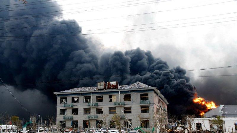 Chine: une explosion dans une usine fait 47 morts