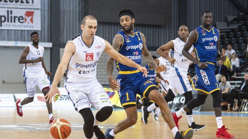Basket: Union Neuchâtel s'incline face à Fribourg Olympic