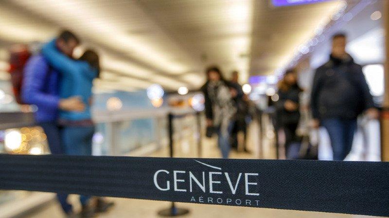 Transport aérien: l'aéroport de Genève enregistre un chiffre d'affaires de 490 millions de francs