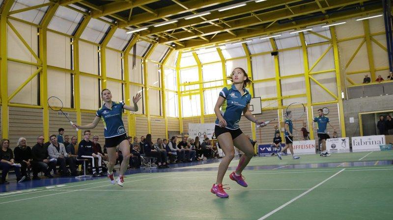 Sabrina Jaquet et Kate Foo Kune, battues en double aux Crêtets. © Muriel Antille