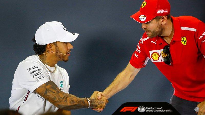 Lewis Hamilton et Sebastian Vettel attaquent la saison avec l'étiquette de favoris.