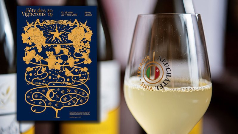Le canton de Neuchâtel fera sa pub le 10août à la Fête des vignerons