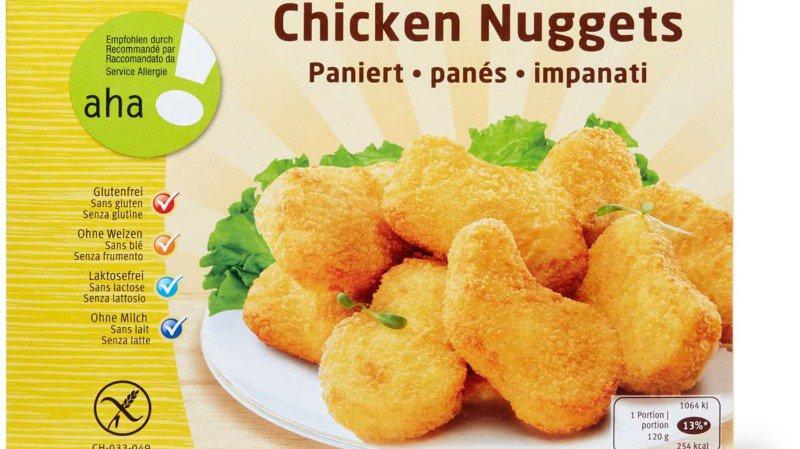 Rappel de produit: Migros rappelle des poulets panés surgelés contenant du gluten