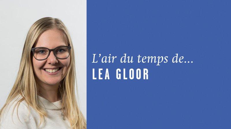 «Faux livres et gants de laine», l'air du temps de Lea Gloor