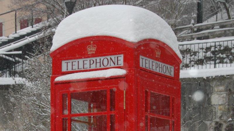 Une cabine téléphonique a été installée au square Sidmouth l'an dernier.