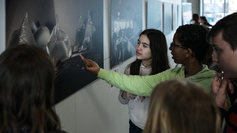 Des élèves neuchâtelois parlent de développement durable