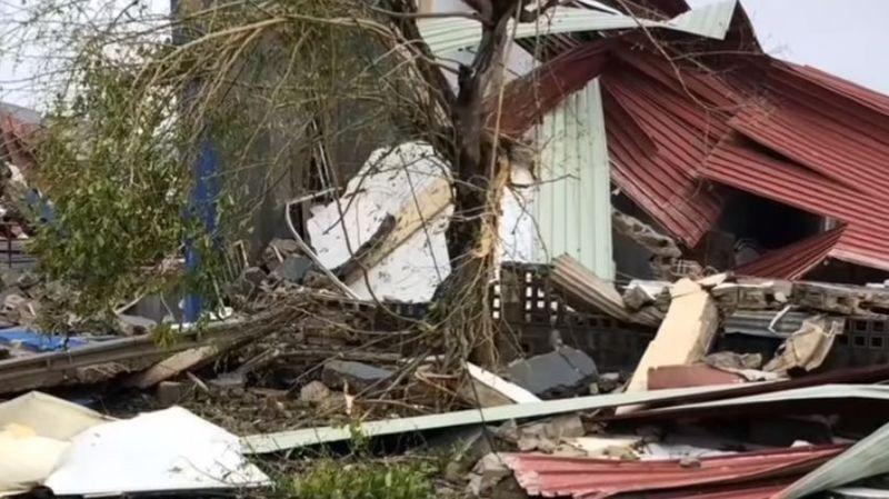 Le bilan s'alourdit suite au passage du cyclone Idai au Mozambique et au Zimbabwe: 127 morts
