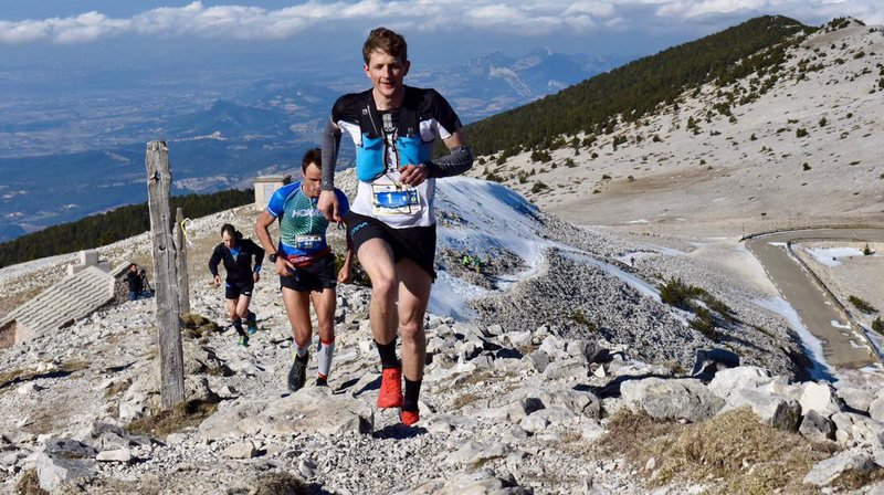 Marc Lauenstein irrésistible sur le Mont Ventoux.