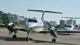 Après le retrait d'Air-Glaciers, l'aéroport des Eplatures s'est trouvé un nouvel avion