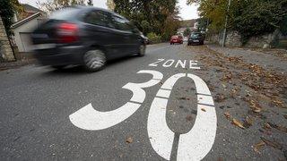 Val-de-Travers pense à introduire le 30km/h généralisé dans les quartiers