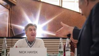 Nick Hayek touche du bois pour 2019