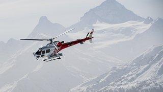 Valais: une avalanche aurait emporté 4 personnes aux Cloches d'Arpettes, au-dessus de Bovernier