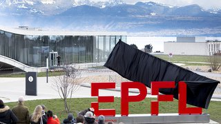 Lausanne: nouvelle identité visuelle et inauguration d'une agora pour l'EPFL