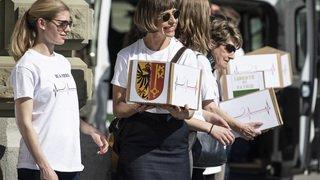Santé: l'initiative pour le don d'organes a été déposée avec 113'000 signatures valides