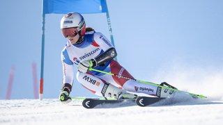Ski alpin: Camille Rast surprend Wendy Holdener et devient championne suisse de géant