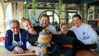 Quatre chefs romands ont sublimé l'absinthe à Môtiers
