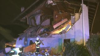 Valais: une explosion éventre une maison villageoise de Grône, deux blessés