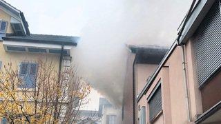 Reconvilier: un incendie détruit un appartement