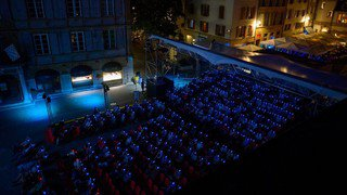 Hommage au film de science-fiction Alien lors du Nifff