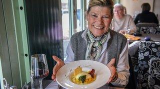 On croque avec… Verena Lüthi, l'ancienne patronne de l'auberge du Mont-Cornu
