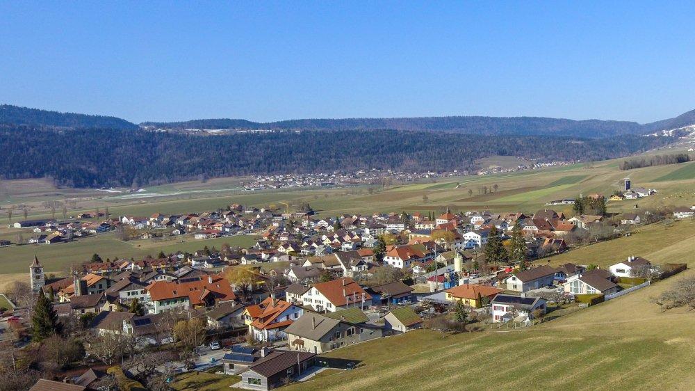 Le village de Savagnier est principalement touché par la création d'une zone réservée.