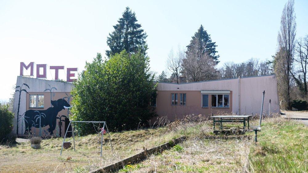 L'ancien motel a fermé ses portes en décembre 2016.