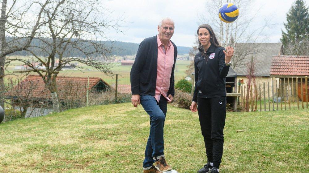 Bernard Challandes et Laura Girolami ont débattu des multiples facettes de leur si complexe métier d'entraîneur.
