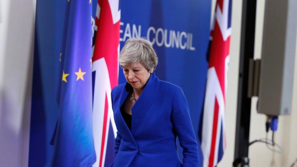 Theresa May espère toujours trouver une solution au problème  du Brexit avant le 22mai, la veille des élections européennes.