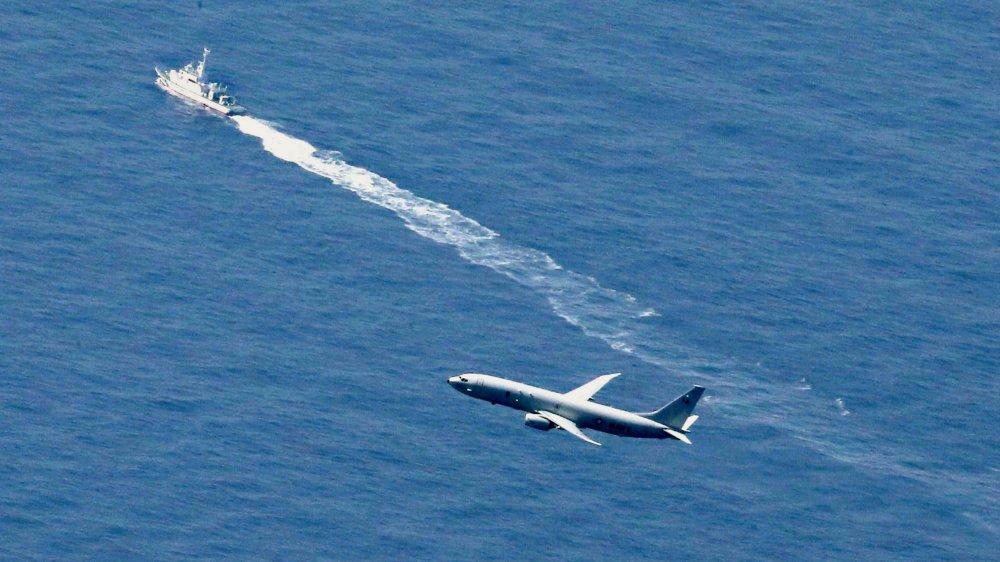 Japonais et Américains tentent de prendre de vitesse Russes et Chinois pour retrouver l'épave d'un F-35.