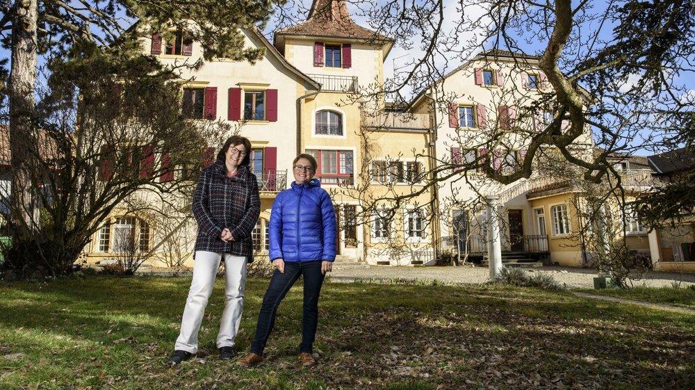 Inés Sancho Dupraz (g.) et Marilyne Hunziker (dr.) y vivent depuis 30 et 20 ans respectivement.