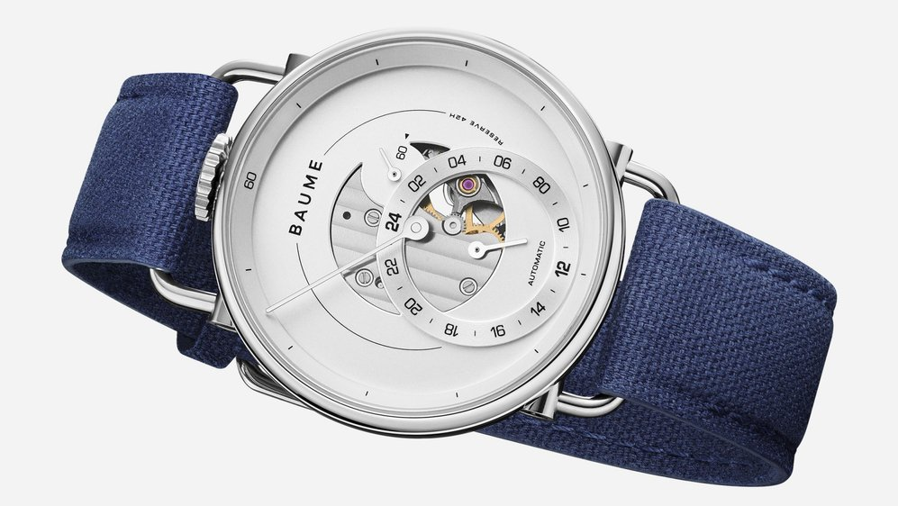 Uniquement vendue en quartz jusqu'ici, la montre Baume se dote de modèles mécaniques.