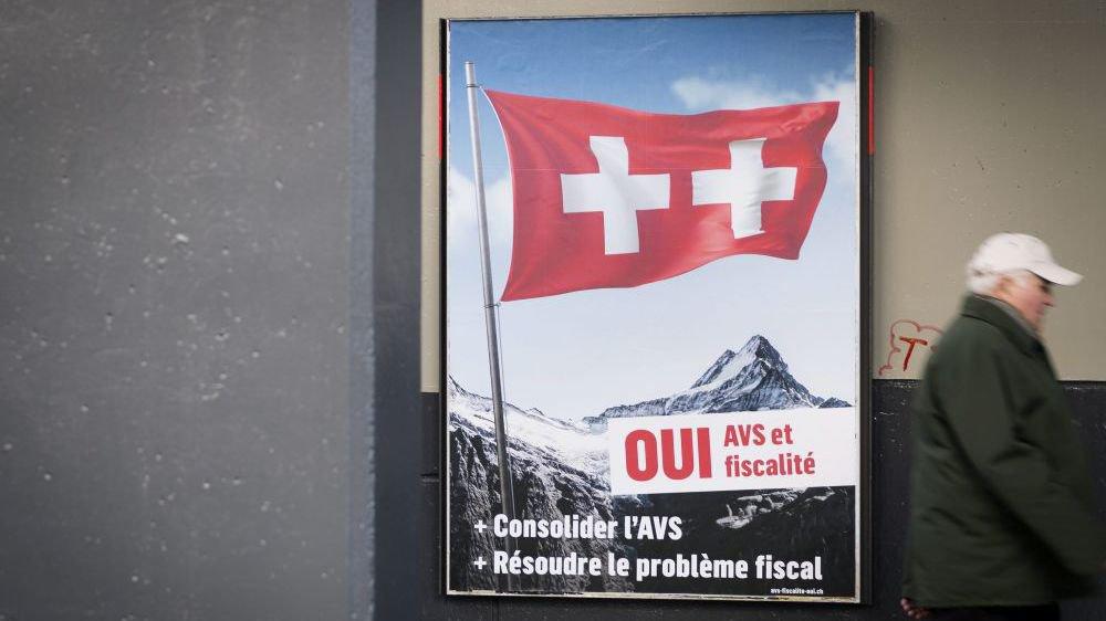 Les Suisses se prononcent le 19 mai sur la réforme fiscale et le financement de l'AVS.