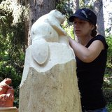 Semaine des sculpteurs à Axalp