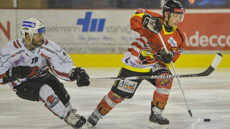 Joan Siegrist (à droite) évoluera avec le HC Le Locle la saison prochaine.