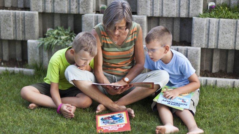 Le boom des parents retraités avec enfants à charge