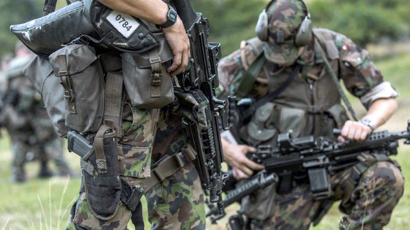 Armée: 7 jeunes Suisse sur 10 aptes au service militaire