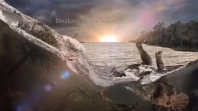 Archéologie : découverte de fossiles du jour où l'astéroïde a frappé la Terre