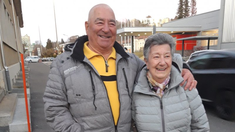 Henri et Monique Marchon, soixante ans de bonheur partagé.