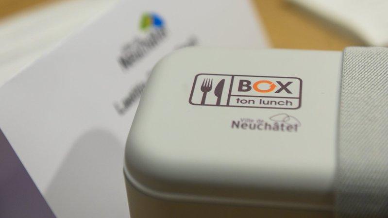 Neuchâtel veut lutter contre les déchets de la pause de midi