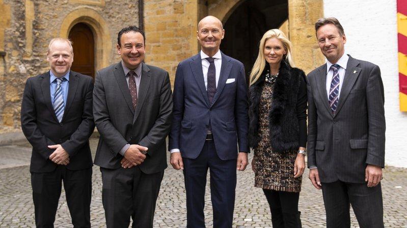 L'ambassadeur de Suède en visite dans le canton de Neuchâtel