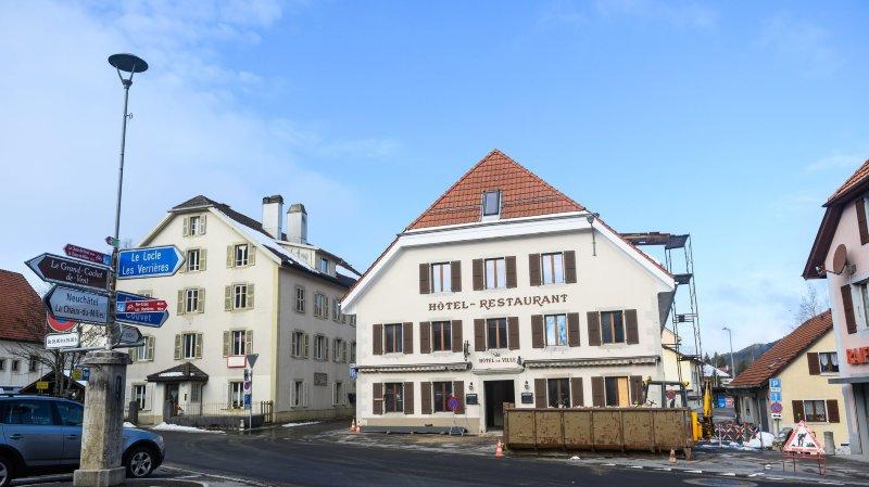 Plus de 1,5 million de francs pour rénover l'Hôtel-de-Ville de La Brévine