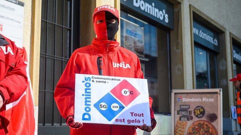 Neuchâtel: Unia dénonce le manque de communication de Domino's Pizza
