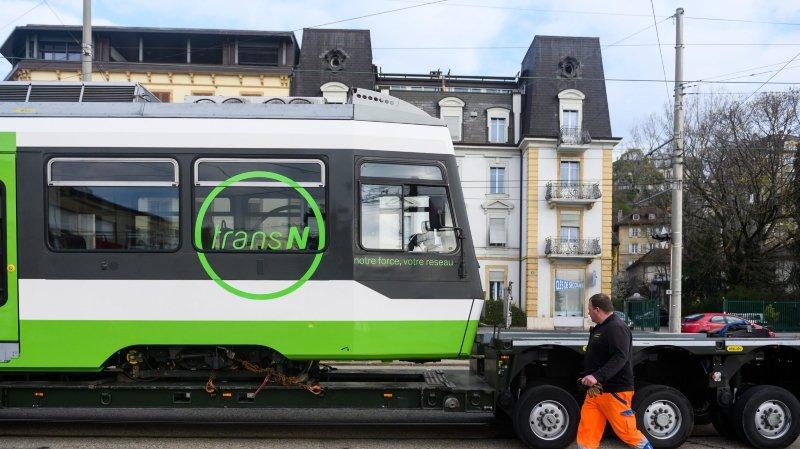 La première nouvelle rame du Littorail est arrivée à Neuchâtel
