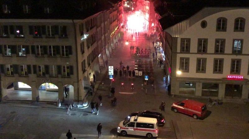 Berne: des fans des Young Boys agressent des policiers