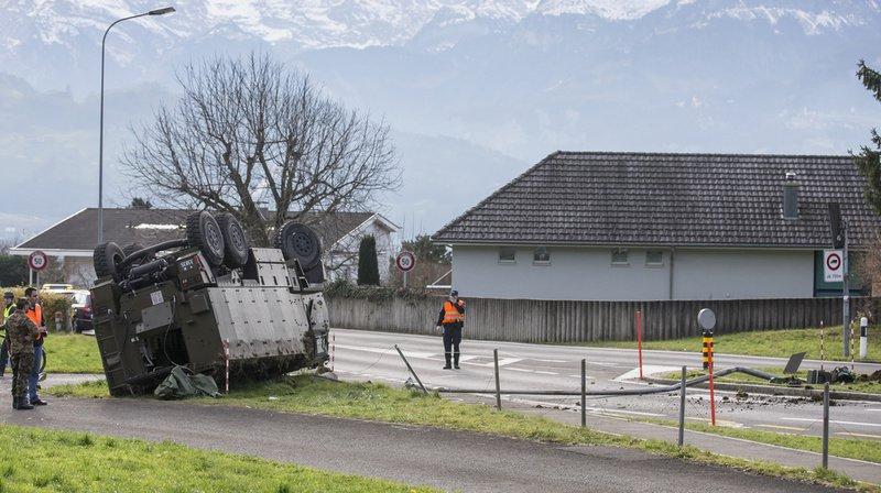 Armée: près de 20 accidents par jour en moyenne en 2018