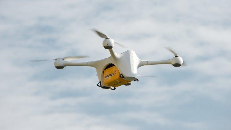 La Poste: reprise des vols de drones après l'accident de Zurich