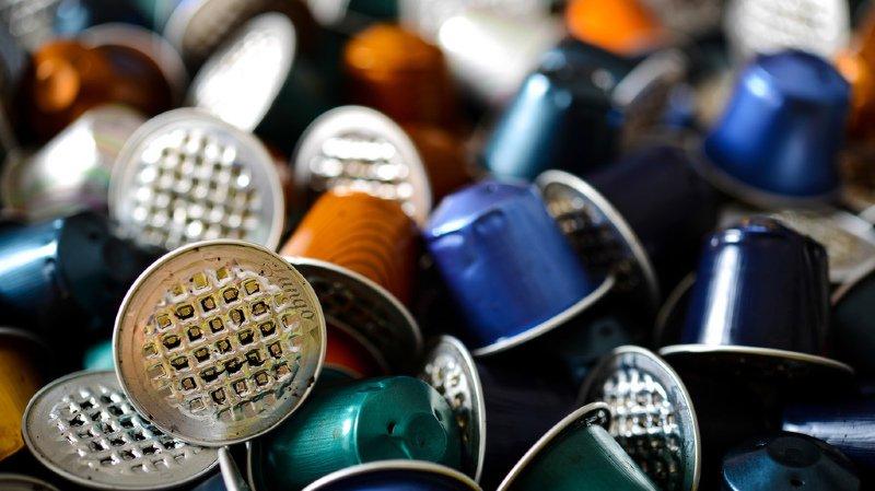 Les capsules Nespresso finissent le plus souvent à la poubelle.