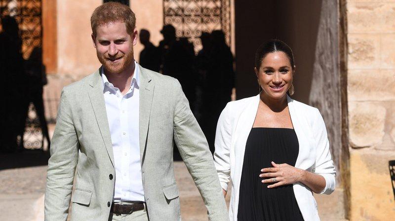L'ouverture de ce compte intervient à quelques semaines de la naissance du premier enfant du petit-fils de la reine Elizabeth II et de l'ancienne actrice américaine.